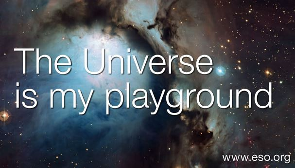 Universe is my playground