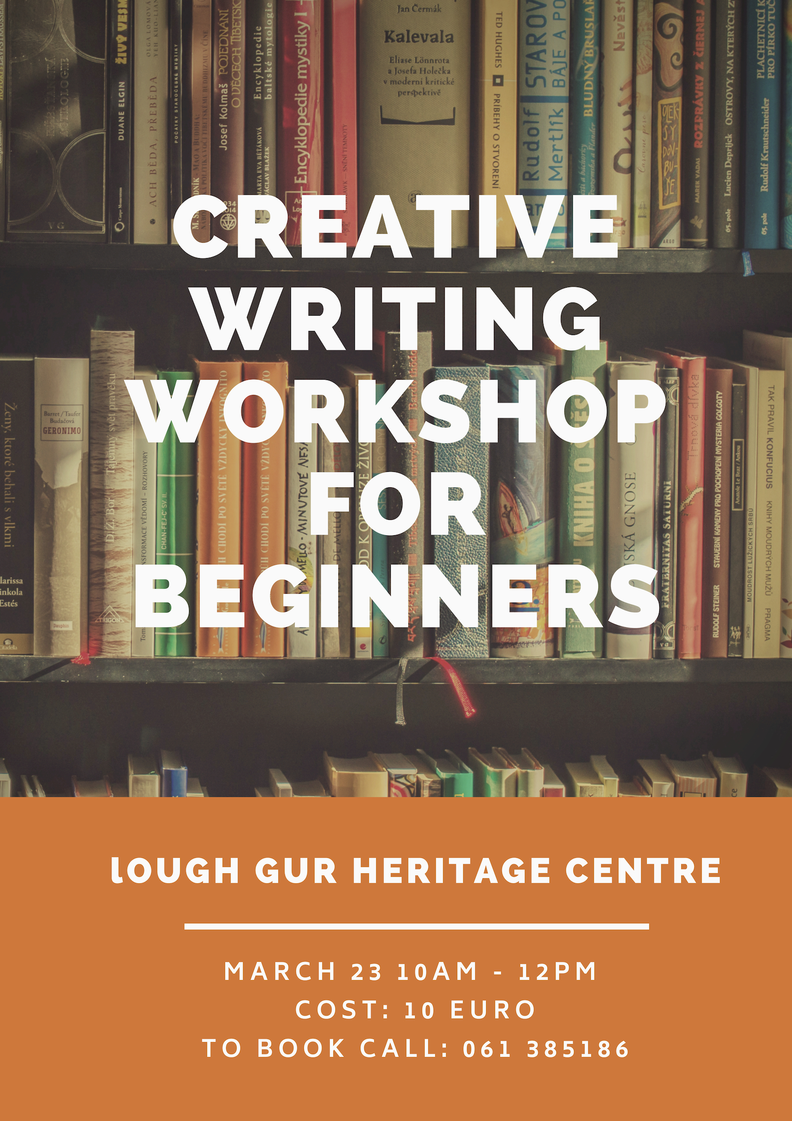 creative writing courses for beginners